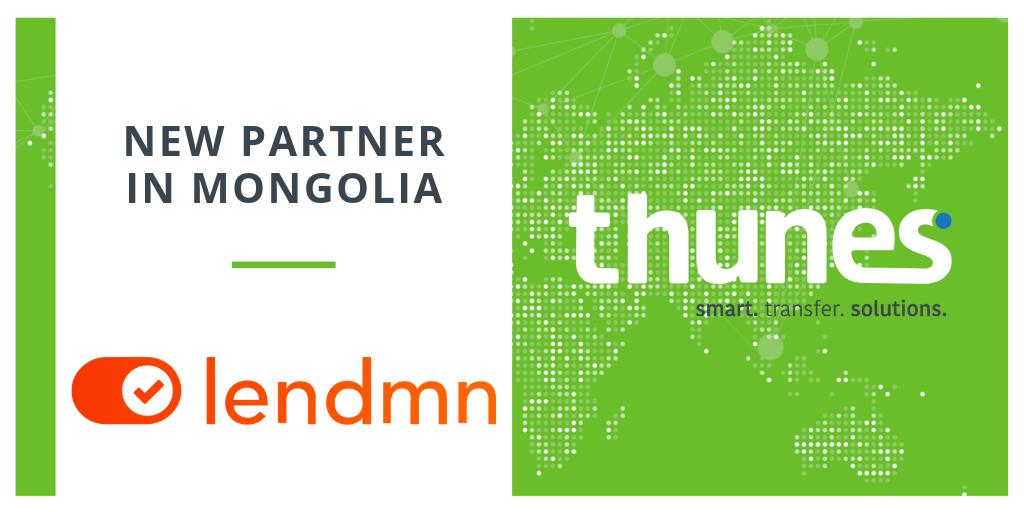 Thunes new partner in Mongolia