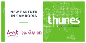 Thunes partnership with AMK