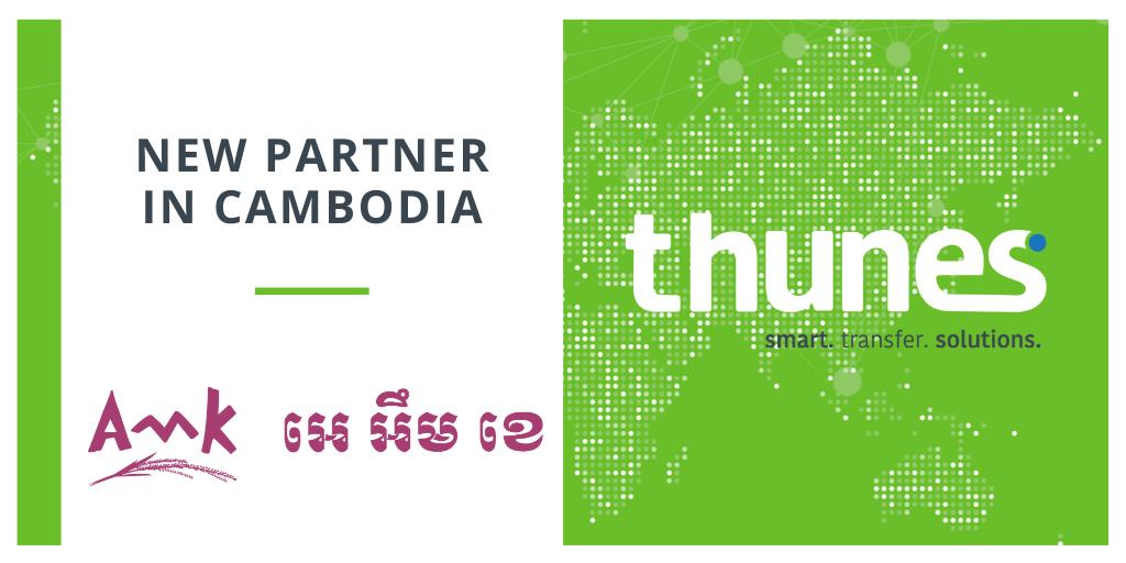 Thunes partnership with AMK