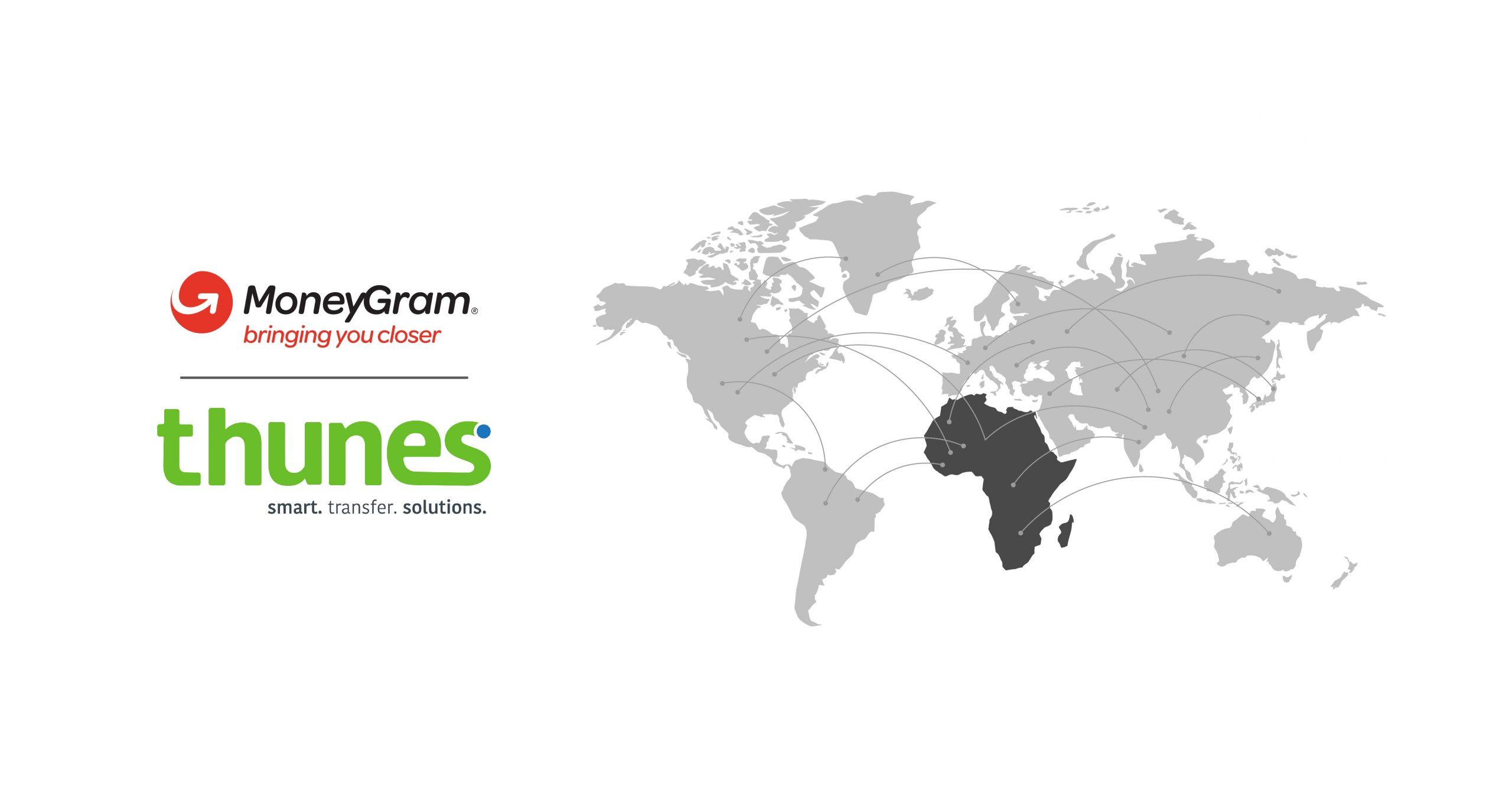 Partnership between Thunes and MoneyGram